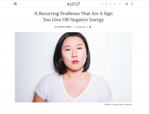 Bustle Article – Signs You Give Off Negative Energy